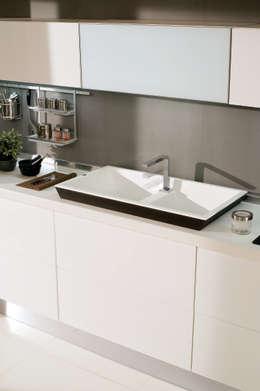 Dogma 100: Cucina in stile  di Dilber & Stolfi architetti