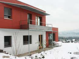 Дома в . Автор – Tangentes Architectes