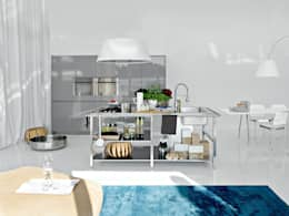 Cucina in stile in stile Moderno di Versat