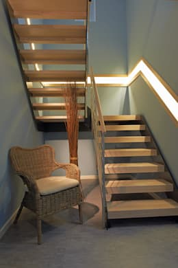 treppenbeleuchtung 8 coole ideen. Black Bedroom Furniture Sets. Home Design Ideas
