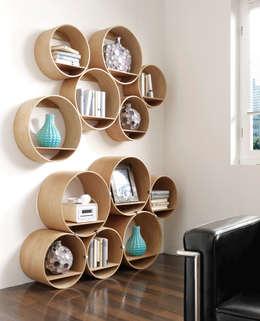 eclectic Study/office by Kißkalt Designs