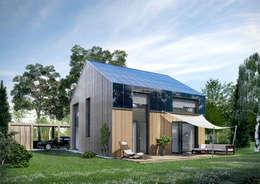 Maisons de style de style Moderne par ecohome 4.2