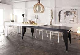 Dining room by Kißkalt Designs