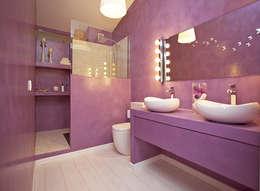 Bagno in stile in stile Moderno di Arquitectos Madrid 2.0