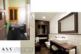 Reforma integral de Vivienda en Madrid: Casas de estilo moderno de Arquitectos Madrid 2.0