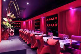 Restaurant Le Boudoir:  de style  par Agence Philippe BATIFOULIER Design