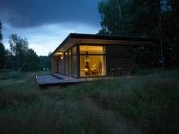 Projekty,  Dom prefabrykowany zaprojektowane przez SOMMERHAUS PIU