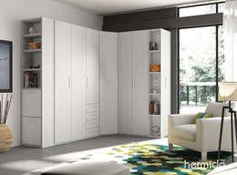 Ideas para crear un vestidor en el dormitorio for Muebles hermida