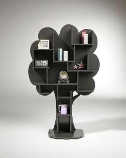 Bibliothèque arbre: Salon de style de style Classique par Mathy by Bols