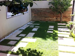Jardins modernos por Laura Marini Architetto