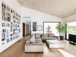 غرفة المعيشة تنفيذ margarotger interiorisme