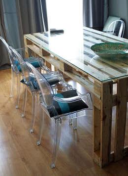 Stół z palet do JADALN: styl , w kategorii Jadalnia zaprojektowany przez Fabryka Palet