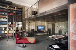 Italian Loft: Soggiorno in stile in stile Industriale di vemworks