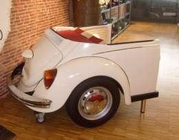 Sofa Käfer-Heck 03: ausgefallene Wohnzimmer von Automöbeldesign
