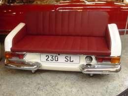 Mercedes Pagode Sofa: ausgefallene Wohnzimmer von Automöbeldesign