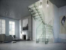 Gang, hal & trappenhuis door Siller Treppen/Stairs/Scale