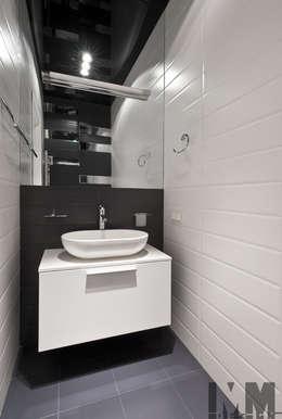 Треугольная инверсия: Ванные комнаты в . Автор – ММ-design