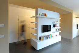 Salas / recibidores de estilo minimalista por GRAZIANI & DICEMBRINO