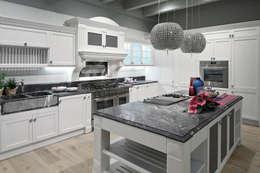 Projekty,  Kuchnia zaprojektowane przez ARREX LE CUCINE