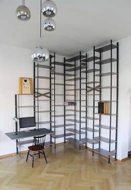 Salon de style de style Minimaliste par Tuba Design