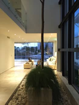 Vortex Arquitectos: minimal tarz tarz Kış Bahçesi