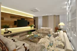 Sala de estar  S|R: Salas de estar clássicas por Redecker + Sperb arquitetura e decoração
