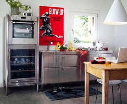 liberi di crescere nel tempo: Cucina in stile  di ALPES INOX