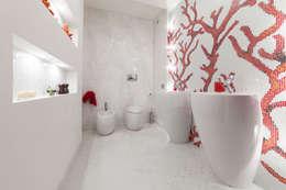 Projekty,  Łazienka zaprojektowane przez StudioG