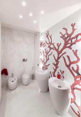Banheiros minimalistas por StudioG