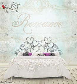Спальная комната  в . Автор – virginiART