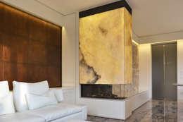 Projekty,  Salon zaprojektowane przez Andrea Girotto Architetto