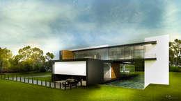 CO Mimarlık Dekorasyon İnşaat ve Dış Tic. Ltd. Şti. – C.S. EVİ: modern tarz Evler