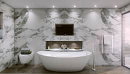 modern Bathroom by Outsourcing Interior Design