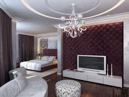 Изысканная неоклассика: Спальни в . Автор – ММ-design