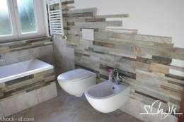 Projekty,  Łazienka zaprojektowane przez Shock-Id