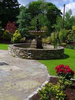 landelijke Tuin door Kevin Cooper Garden Design