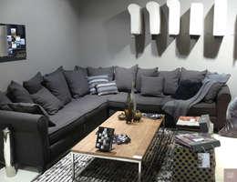 Canapé en L en multi-dossiers: Salon de style de style Classique par Canapé Inn
