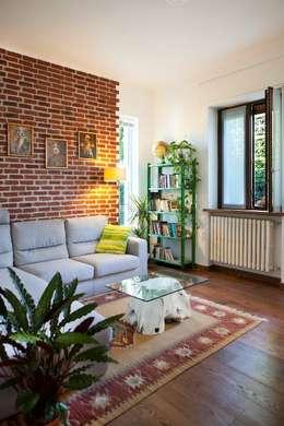 Projekty,  Salon zaprojektowane przez INNOVATEDESIGN®s.a.s. di Eleonora Raiteri