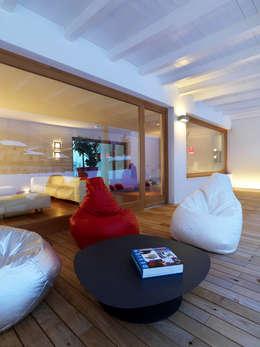 Projekty,  Domy zaprojektowane przez Damilano Studio Architects