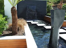 حديقة تنفيذ Kevin Cooper Garden Design
