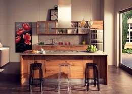 Cocina de estilo  por DIEGI SNC