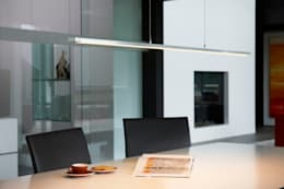 modern Dining room by OLIGO Lichttechnik GmbH