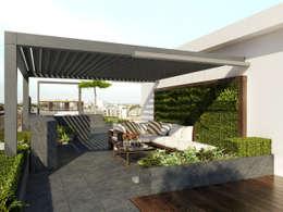 modern Garden by Aralia