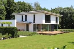 Projekty, nowoczesne Domy zaprojektowane przez Architekt Namberger