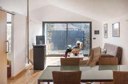 moderne Woonkamer door DMP arquitectura