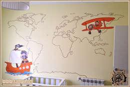 Dormitorios infantiles de estilo moderno por CAMPU.NET