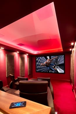 classic Media room by Inspire Audio Visual