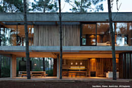 Casa Marino: Casas de estilo moderno por ATV Arquitectos