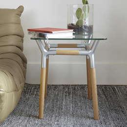 Salas de estilo minimalista por Enjoyme