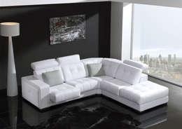 moderne Wohnzimmer von NECTAR LIVING HOME S.L.